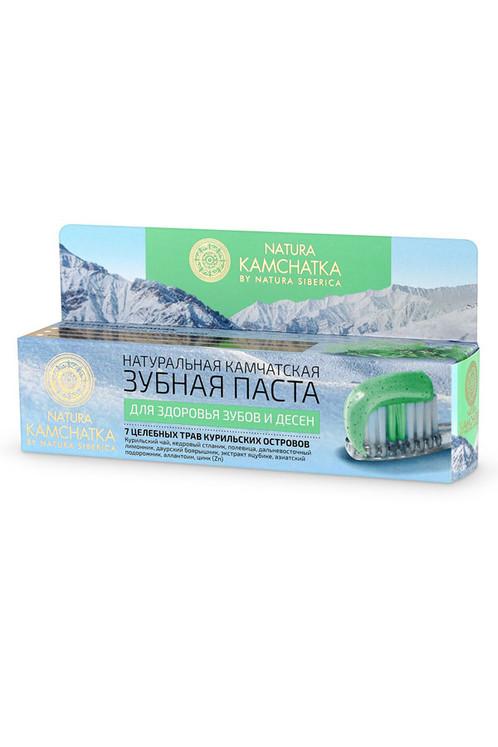 Натуральная камчатская зубная паста ДЛЯ ЗДОРОВЬЯ ЗУБОВ И ДЕСЕН