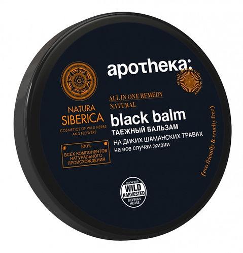 "Таежный бальзам ""BLACK BALM"" apotheca natura siberica"