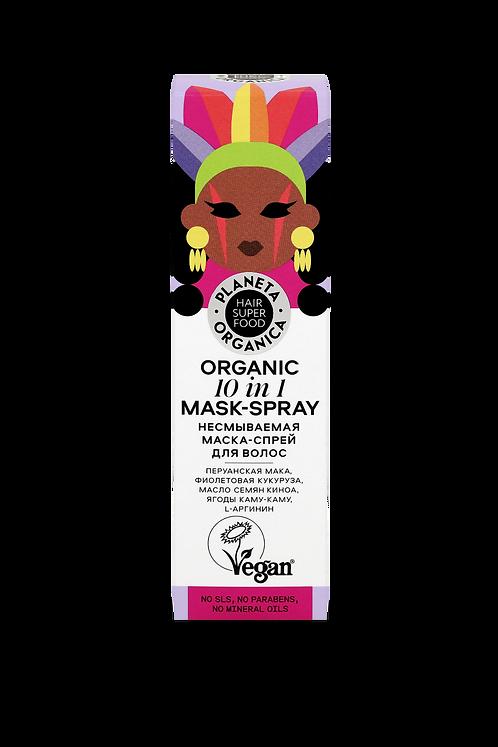 Несмываемая маска-спрей для волос planeta organica