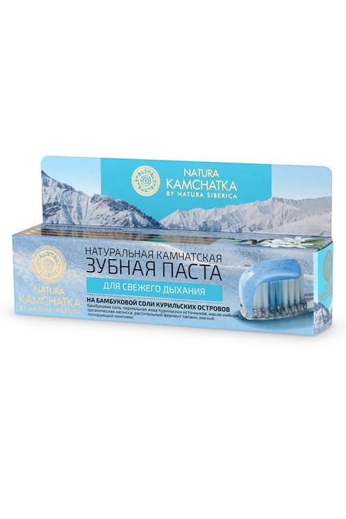 Натуральная камчатская зубная паста ДЛЯ СВЕЖЕГО ДЫХАНИЯ