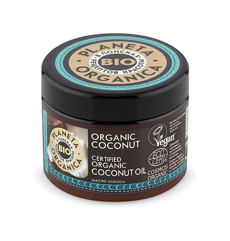 Масло кокоса для волос и кожи Organic Coconut