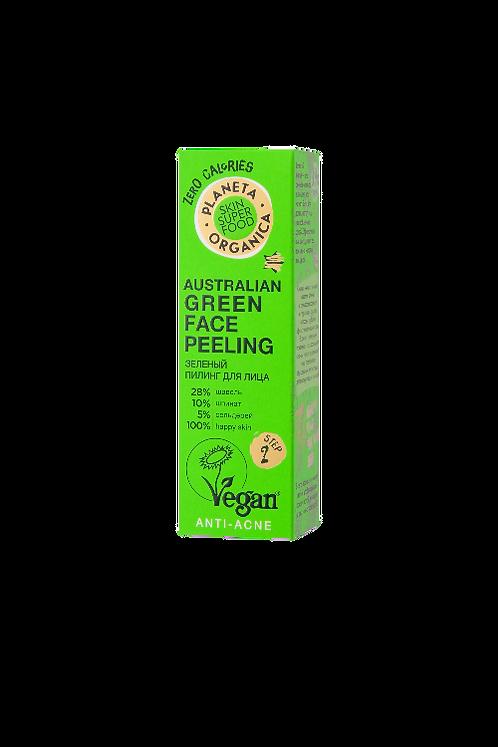 Зеленый пилинг для проблемной кожи