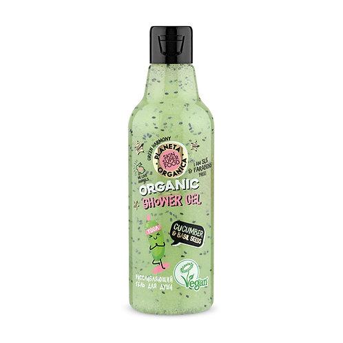 """Гель для душа расслабляющий """"Cucumber & bazil seeds"""""""