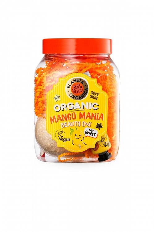 """Подарочный набор """"MANGO MANIA"""" по уходу за телом planeta organica"""