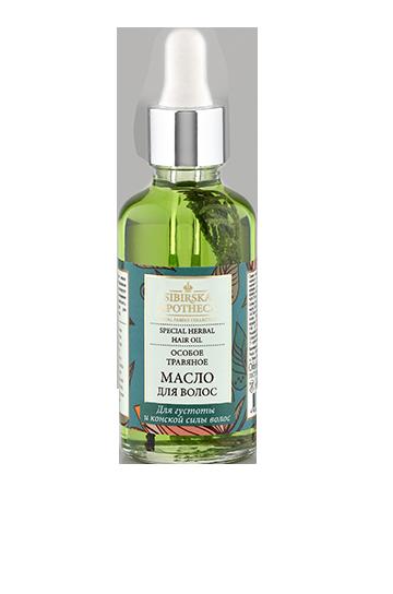 Особое травяное масло для волос Sibirska Apotheca