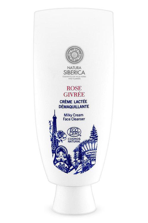 Очищающее крем-молочко для лица «Роза в инее»