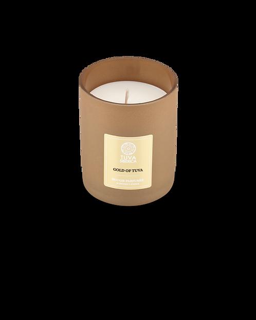 Парфюмированная свеча «ЗОЛОТО ТУВЫ»