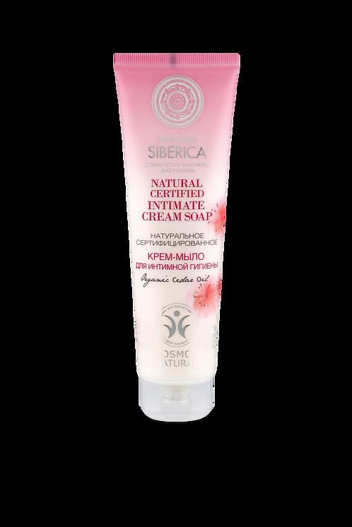 Натуральное сертифицированное крем-мыло для интимной гигиены
