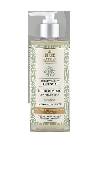 Мягкое мыло для лица и тела