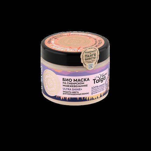 Био маска ULTRA SHINE защита цвета для окрашенных волос Dr Taiga