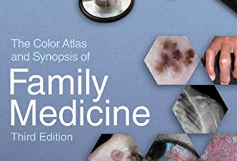 The Color Atlas and Synopsis of Family Medicine, 3rd Edition 3rd Edition |  pearson-prometric