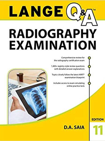 LANGE Q&A Radiography Examination, 11th Edition 11th Edition
