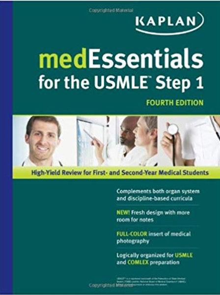 medEssentials for the USMLE Step 1 (USMLE Prep) Fourth Edition