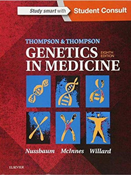 Thompson & Thompson Genetics in Medicine (Thompson and Thompson Genetics in Medi