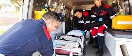 Prometric  McQs in Emergency Medicine Technician