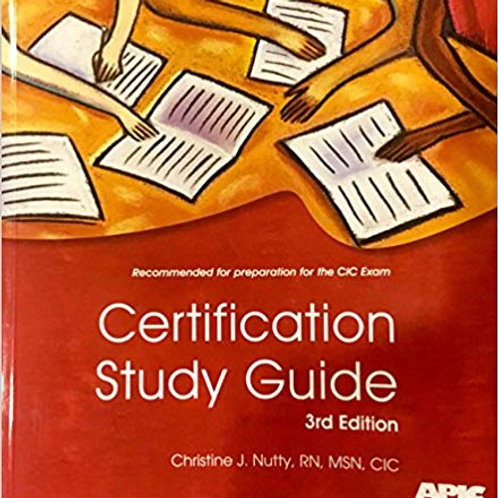 CIC Certification Study Guide 3rd Edition