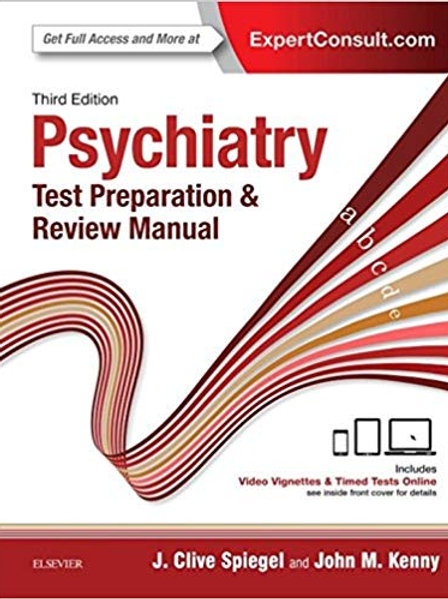 Psychiatry Test Preparation and Review Manual E-Book 3rd Edition