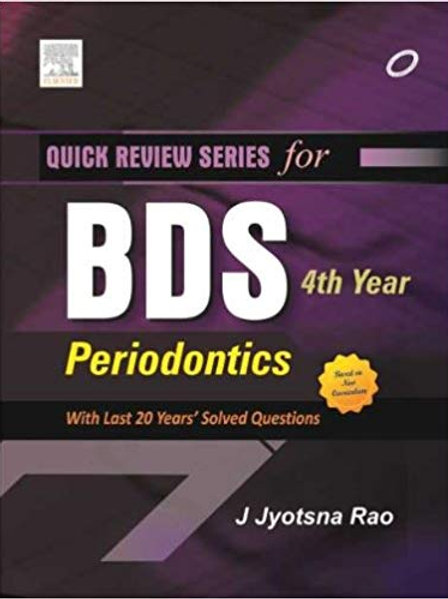 QRS for BDS 4th Year: Periodontolgy