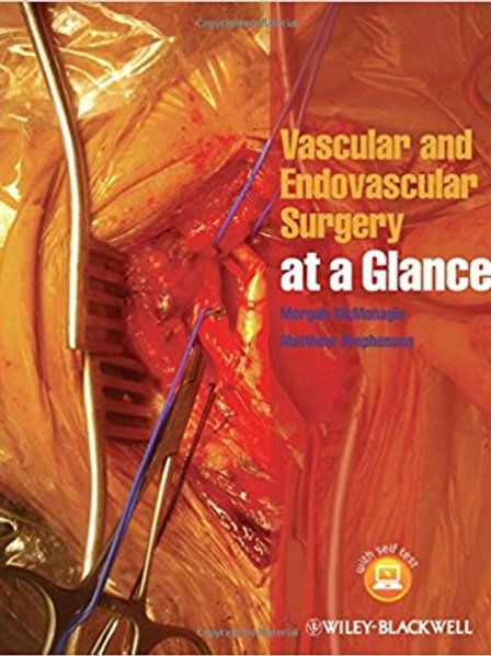 Vascular and Endovascular Surgery at a Glance 1st Edition