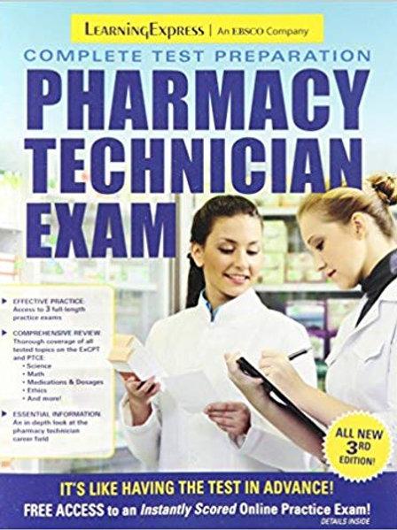 Pharmacy Technician Exam 3rd Edition