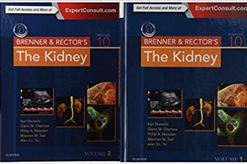 Brenner and Rector's The Kidney, (2 Volume Set), 10e 10th Edition