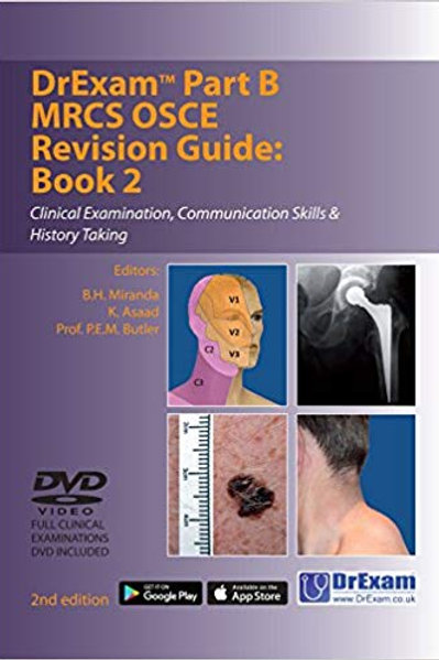 DrExam Part B MRCS OSCE Revision Guide Book 2: Clinical Examination, Communicati