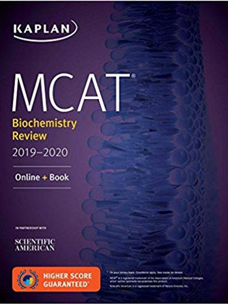 MCAT Biochemistry Review 2019-2020
