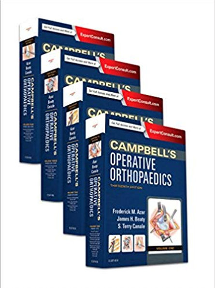 Campbell's Operative Orthopaedics, 4-Volume Set 13th Edition