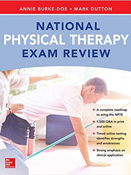 National Physical Therapy Exam and Review 1st Edition