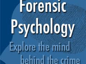 Forensic Psychology Level 3 Online