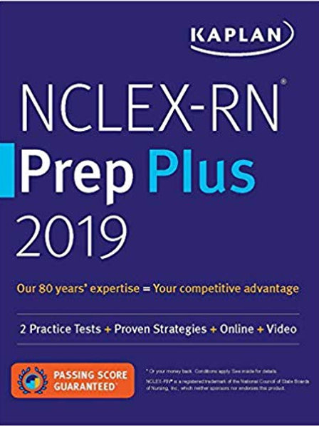 NCLEX-RN Prep Plus 2019: 2 Practice Tests + Proven Strategies + Online + Video (