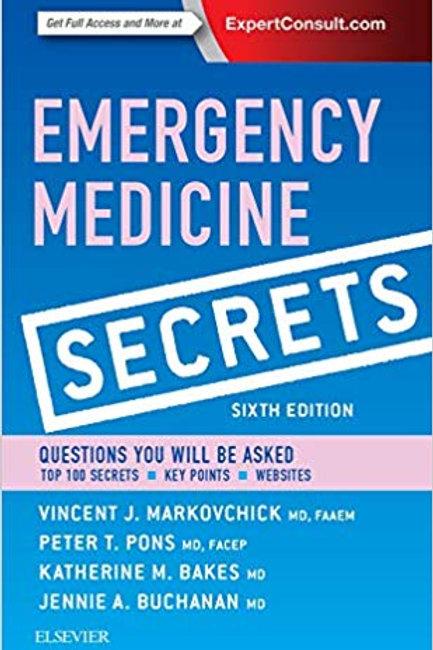 Emergency Medicine Secrets 6th Edition