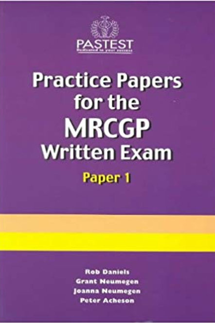 Practice Papers for the MRCGP Written Paper 1