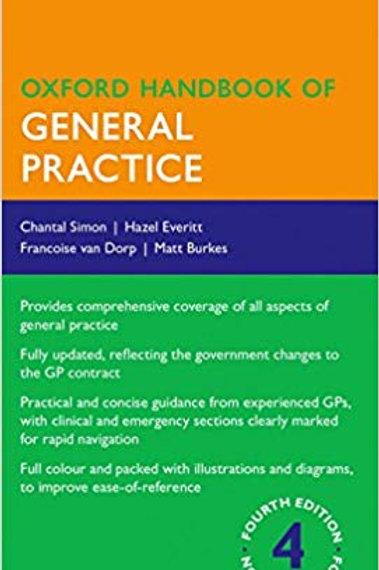 Oxford Handbook of General Practice (Oxford Medical Handbooks) 4th Edition
