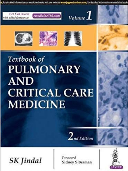 Textbook of Pulmonary and Critical Care Medicine 2nd Edition