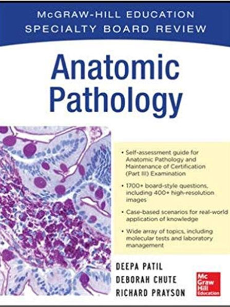 McGraw-Hill Specialty Board Review Anatomic Pathology 1st Edition