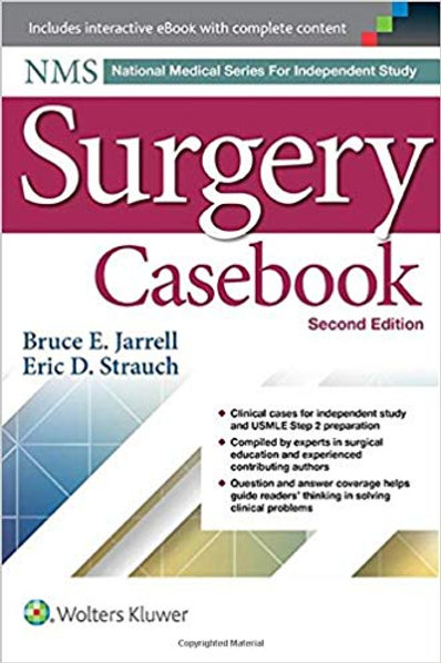 NMS Surgery Casebook (National Medical Series for Independent Study) Second Edit