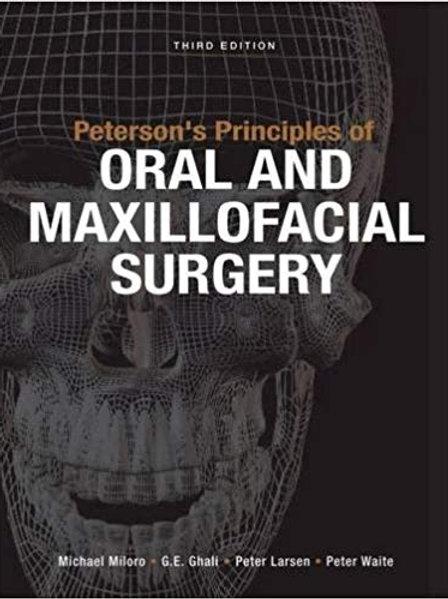 Peterson's Principles Of Oral & Maxillofacial Surgery, Third Edition - 2 Vol. Se