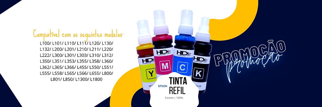 Promoção Tinta Refil EPSON 100ML