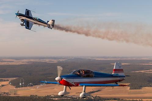 Air-to-air Dijon Voltige