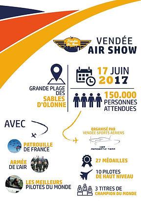 Affiche Vendée Air Show