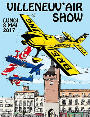 Affiche Villeneuv'Air Cup