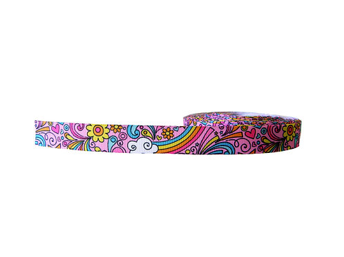 19mm Wide 70's Style Double Ended Lead