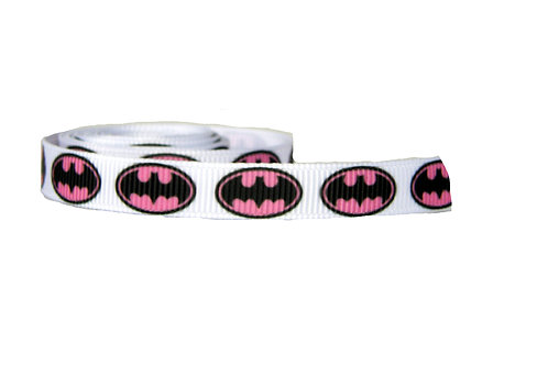 12.7mm Wide Batgirl on White Double Ended Lead