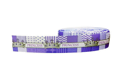 25mm Wide Princess Purple Martingale Collar