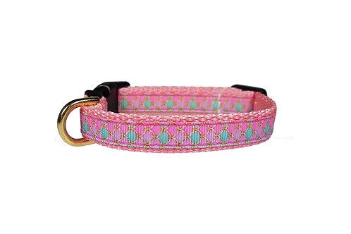 12.7mm Wide Pink Mermaid Collar