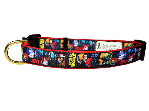25mm Wide Star Wars Comic Dog Collar