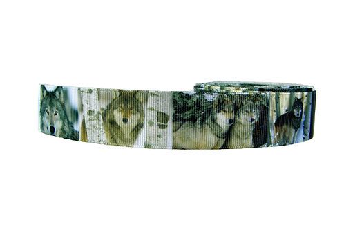 25mm Wide Wolves Double Ended Lead
