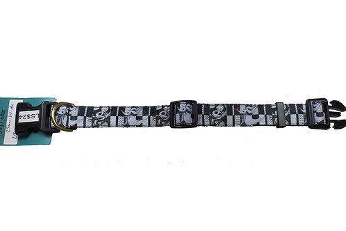 25mm Wide Jack & Sally Dog Collar