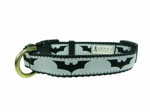 19mm Wide Silver Dark Knight Collar